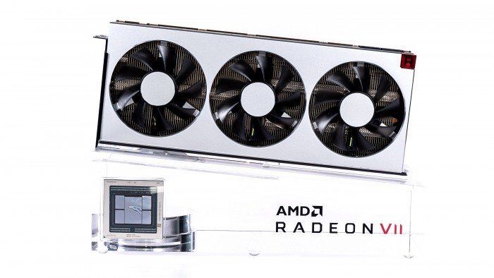 AMDs Radeon VII (Bild: Marc Sauter/Golem.de)