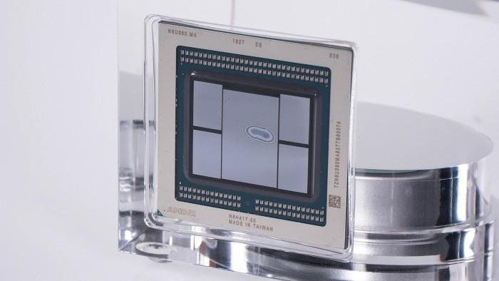 Vega 20 der Radeon VII (Bild: Marc Sauter/Golem.de)