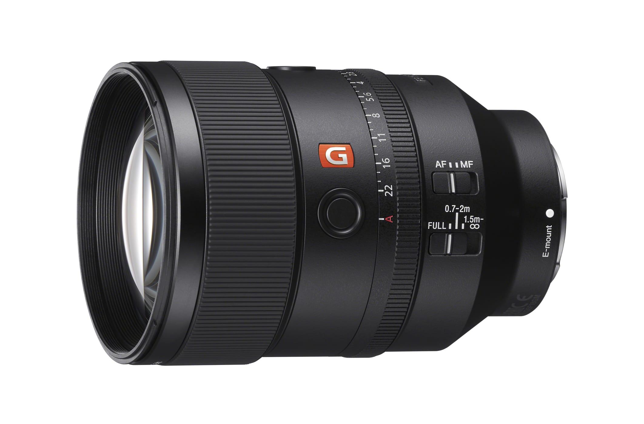 SEL-135F18GM: Sony bringt Vollformatobjektiv mit 135 mm und f/1,8 - Sony SEL-135F18GM (Bild: Sony)