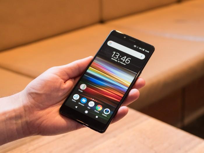 Sonys Xperia L3 (Bild: Martin Wolf/Golem.de)