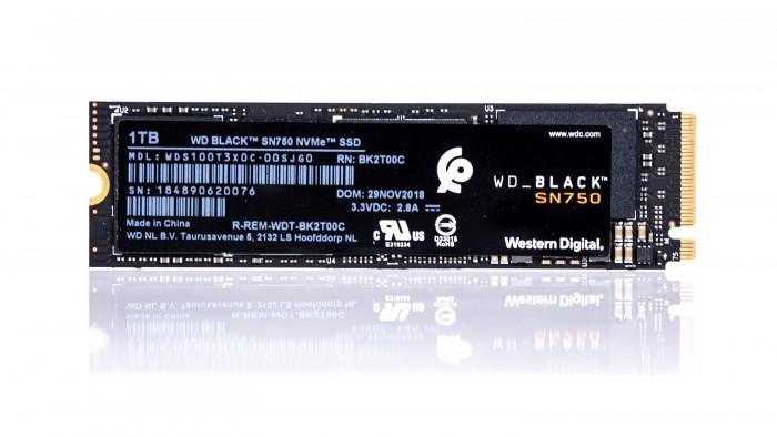 WD Black SN750 (Bild: Marc Sauter/Golem.de)