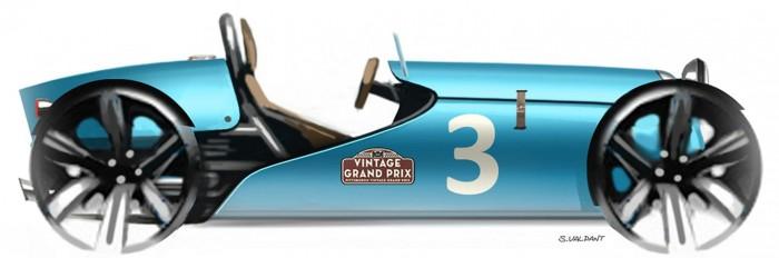 Elektrosportwagen Lesage Motors 01E im Retro-Stil (Bild: Lesage Motors)
