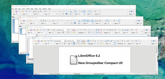 Die neuen Designs in Libreoffice (Bild: Document Foundation)