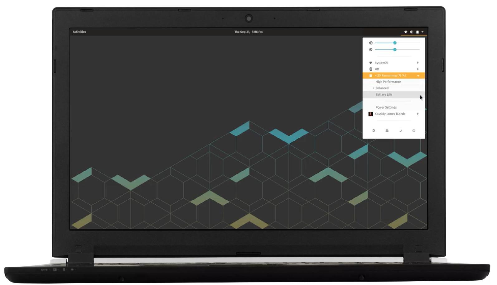 System 76 Oryx Pro: Linux-Notebook kommt mit Nvidia Turing und 16-Zoll-Panel - Oryx Pro (Bild: System76)