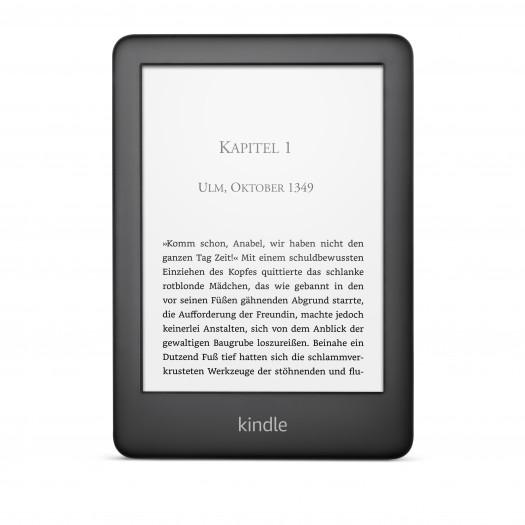 Kindle mit Displaybeleuchtung (Bild: Amazon)
