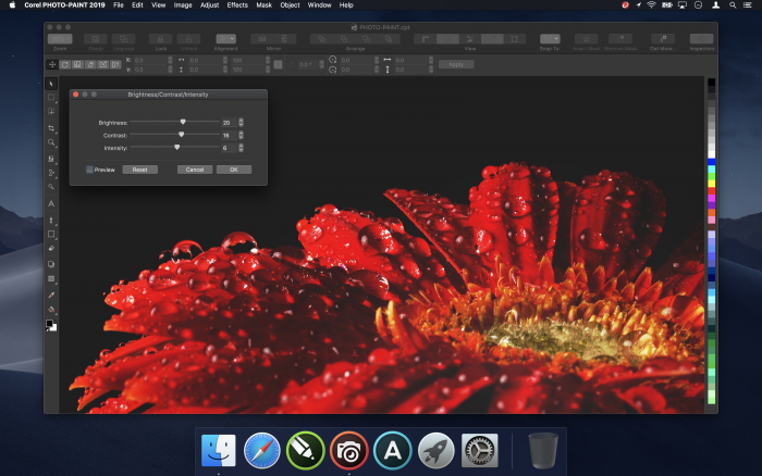 Corel Draw Graphics Suite 2019 (Bild: Corel)