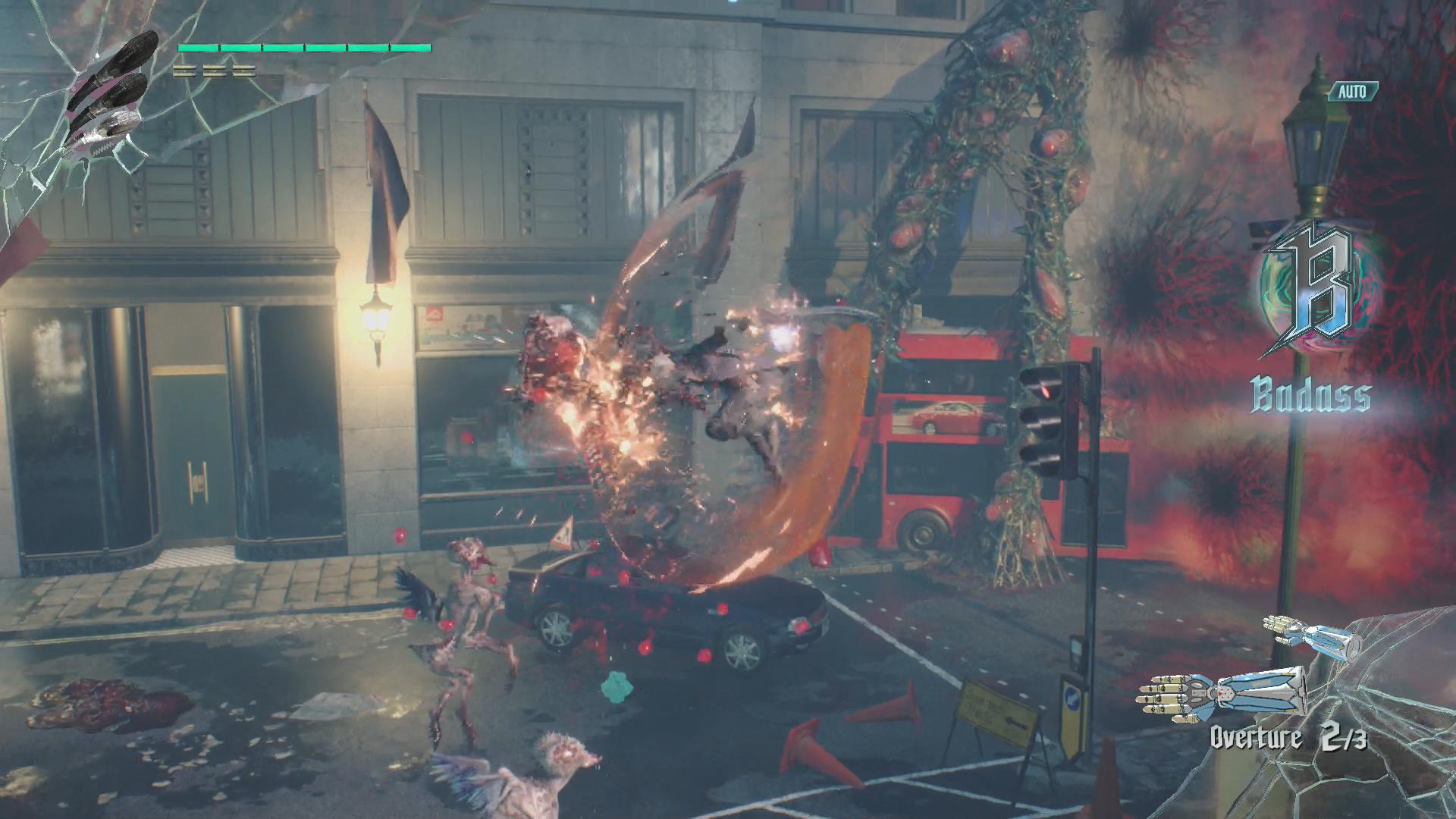 Devil May Cry 5 im Test: Höllische Action mit Schulnote B -