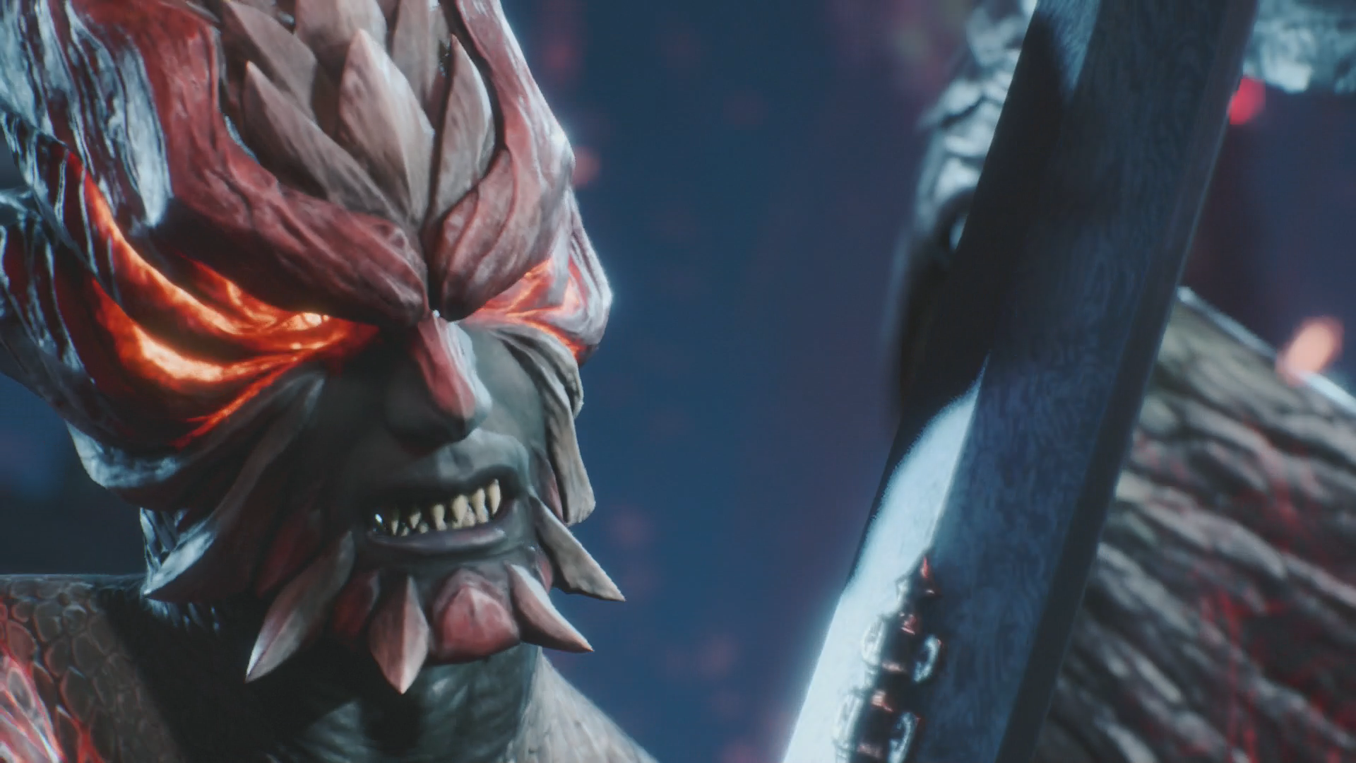 Devil May Cry 5 im Test: Höllische Action mit Schulnote B - Dante in einer Spezialform ... (Bild: Capcom/Screenshot: Golem.de)