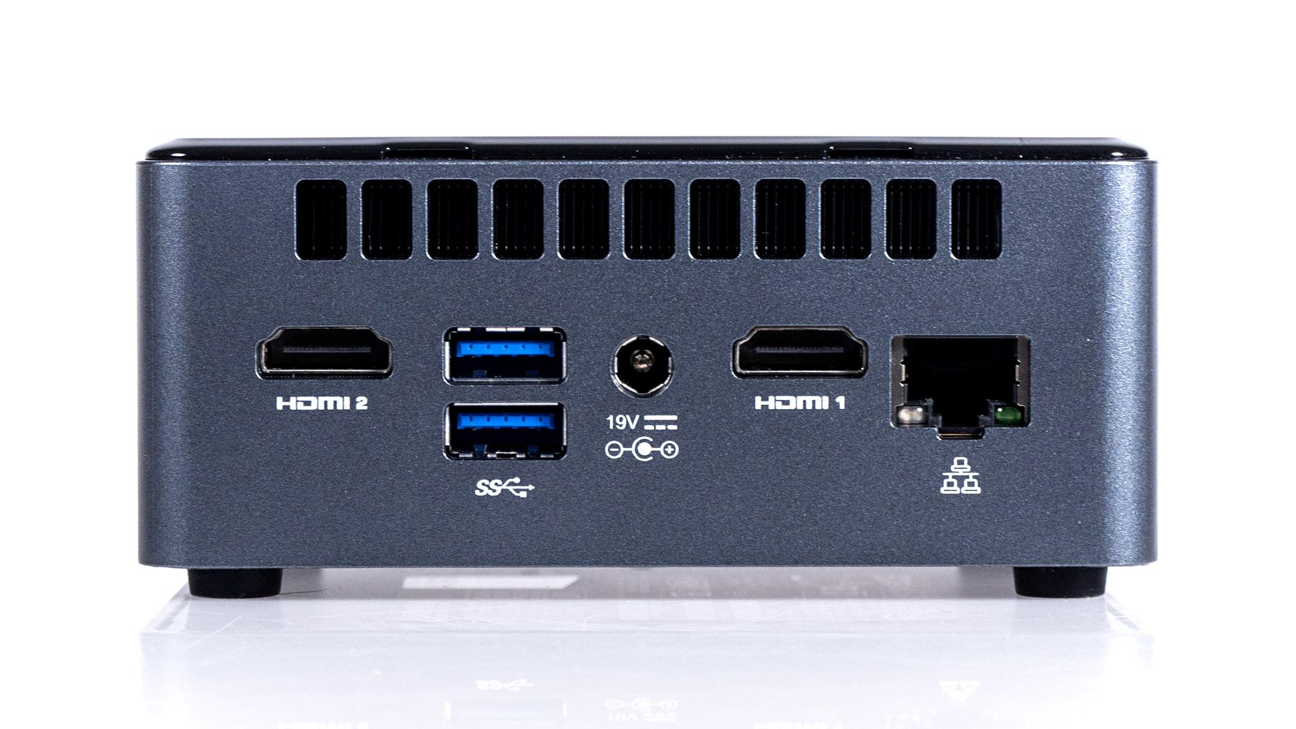 NUC8 (Crimson Canyon) im Test: AMD rettet Intels 10-nm-Minirechner -