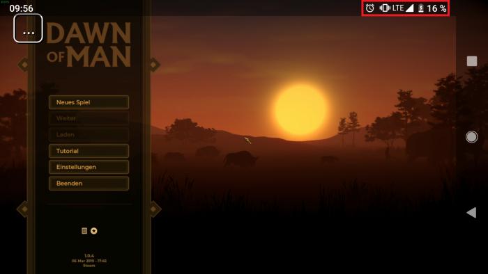 Wir streamen Dawn of Man per LTE und Steam-Link-App auf ein Pixel 2. (Bild: Golem.de)
