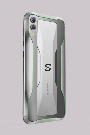 Das neue Black Shark 2 von Xiaomi in Silber (Bild: Xiaomi)