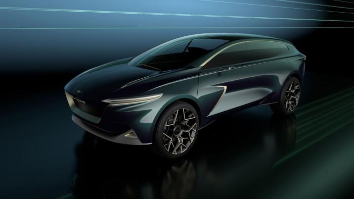 Das Elektro-SUV Lagonda All-Terrain Concept (Bild: Aston Martin)
