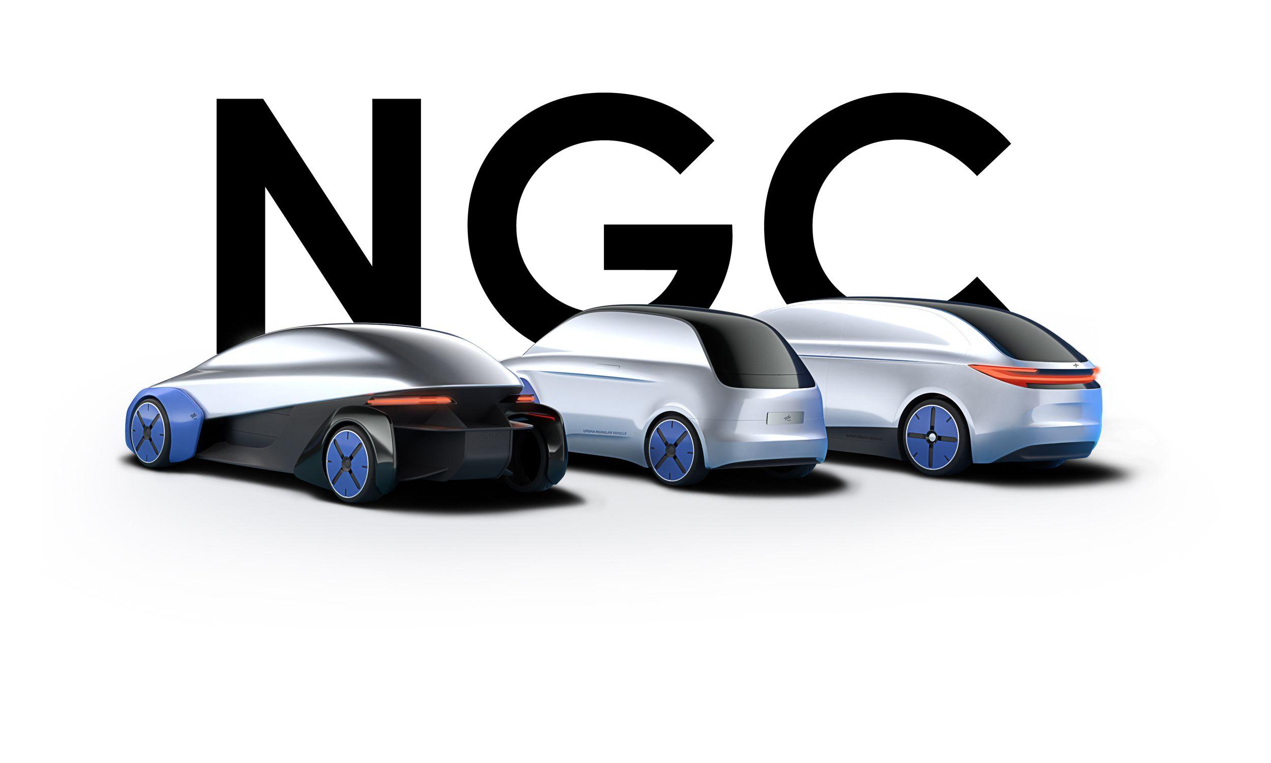 Next Generation Car: Das Fahrzeug der Zukunft ist modular - Im Projekt Next Generation Car entwickelt das DLR Fahrzeugkonzepte auf der Basis einer einzigen Plattform. (Bild: DLR)