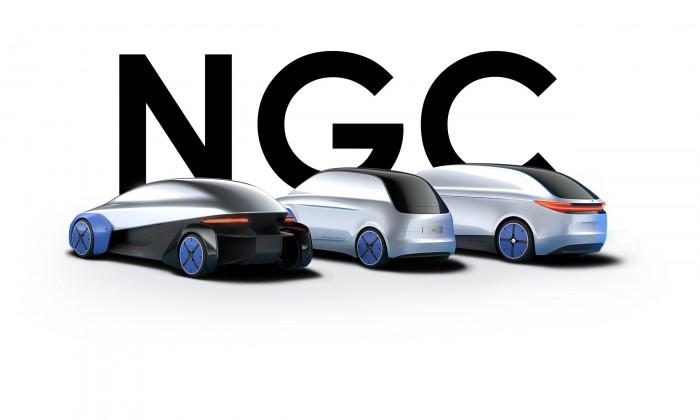 Im Projekt Next Generation Car entwickelt das DLR Fahrzeugkonzepte auf der Basis einer einzigen Plattform. (Bild: DLR)