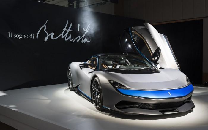 Es ist das erste eigene Fahrzeug - bisher hat Pininfarina für andere Hersteller Autos entworfen. (Bild: Pininfarina)