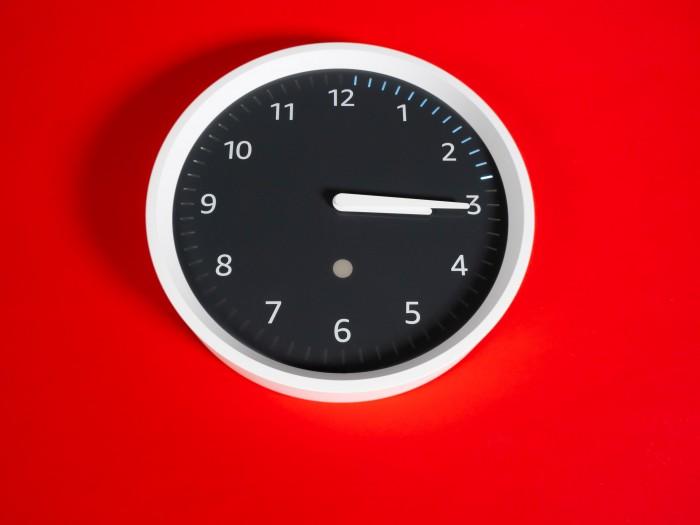 Amazons Echo Wall Clock (Bild: Martin Wolf/Golem.de)