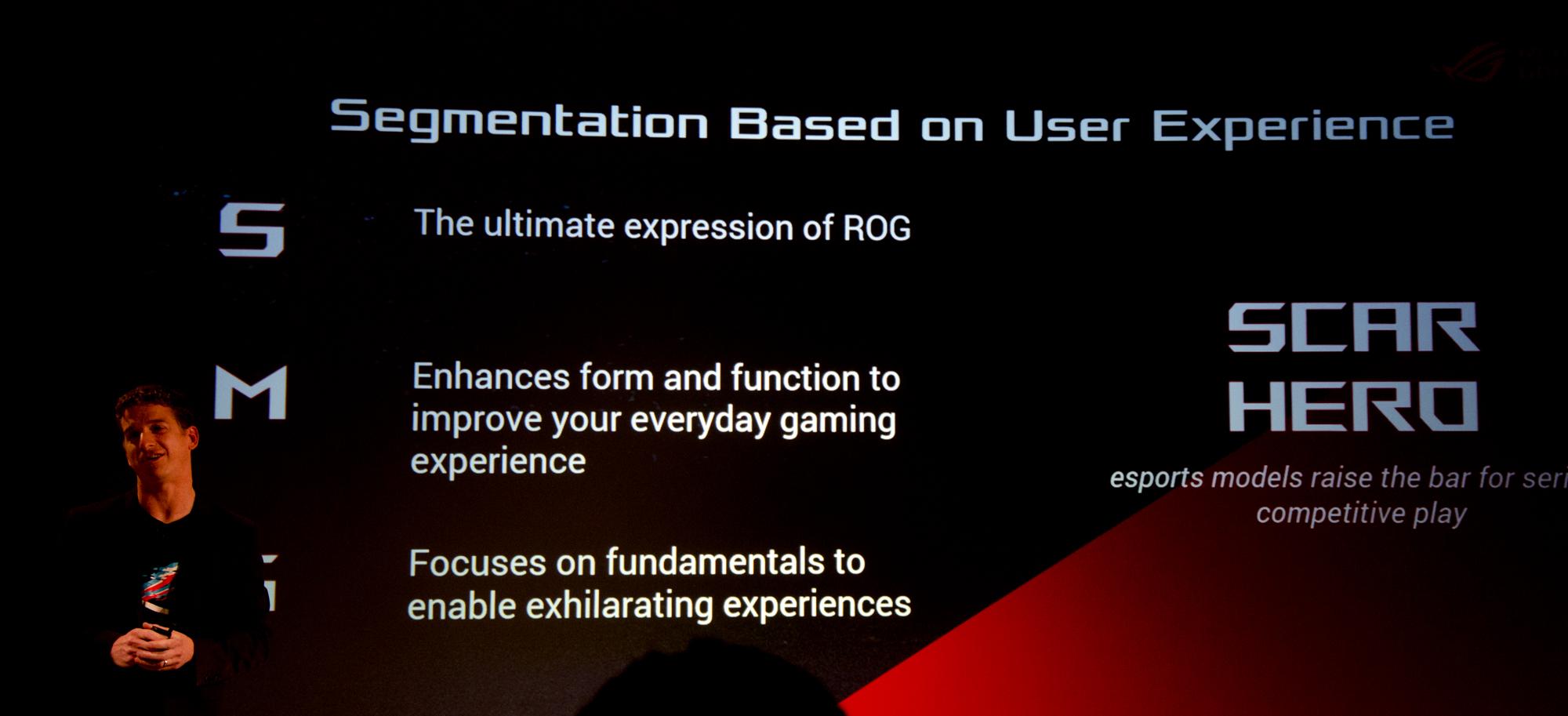 Gaming-Notebooks: Asus ROG mit Core i9 und fixen oder farbstarken Displays - S, M und G sind die Submarken der Zephyrus-Serie. (Foto: Nico Ernst)