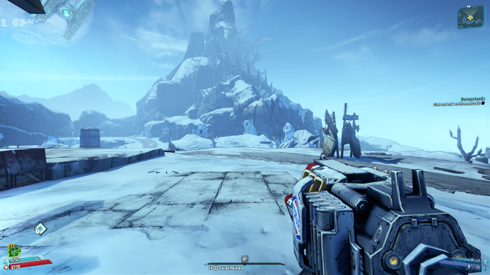 Borderlands 2 im Original ... (Rechteinhaber: Gearbox, Screenshot: Golem.de)