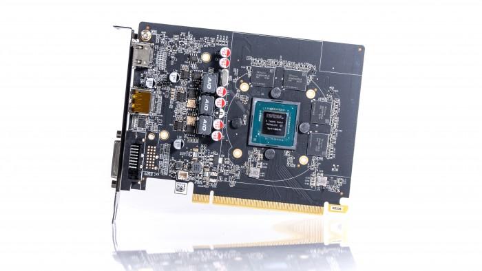 Geforce GTX 1650 von Zotac (Bild: Marc Sauter/Golem.de)