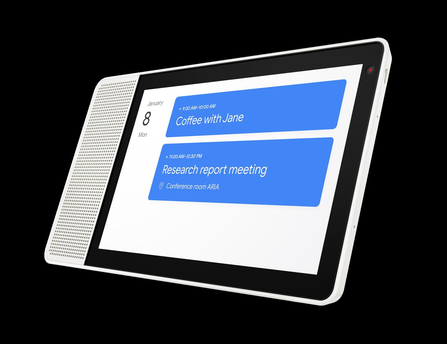 Smart Display: Lenovo bringt Google-Assistant-Display für 180 Euro - Smart Display (Bild: Lenovo)