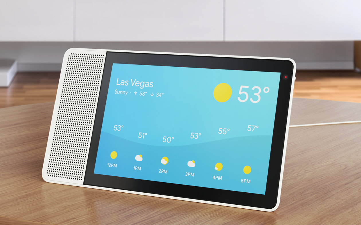Smart Display: Lenovo bringt Google-Assistant-Display für 180 Euro - Smart Display (Bild: Lenovo)