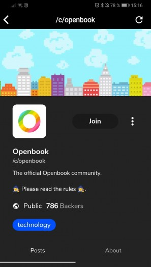 Die Openbook-Gruppen sind moderiert und verfügen meist über Regeln, die sich an der Netiquette orientieren. (Screenshot: Golem.de)