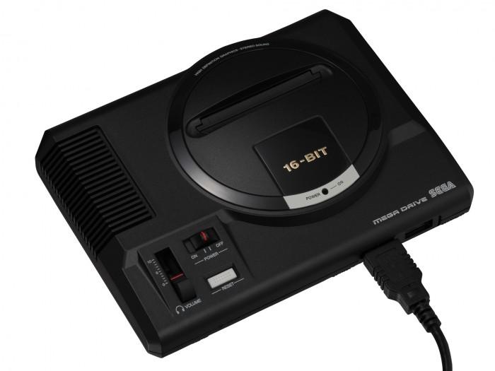 Artwork des Sega Mega Drive Mini (Bild: Sega)