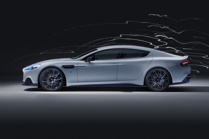 Der Rapid E ist Aston Martins erstes Elektroauto ... (Bild: Aston Martin)