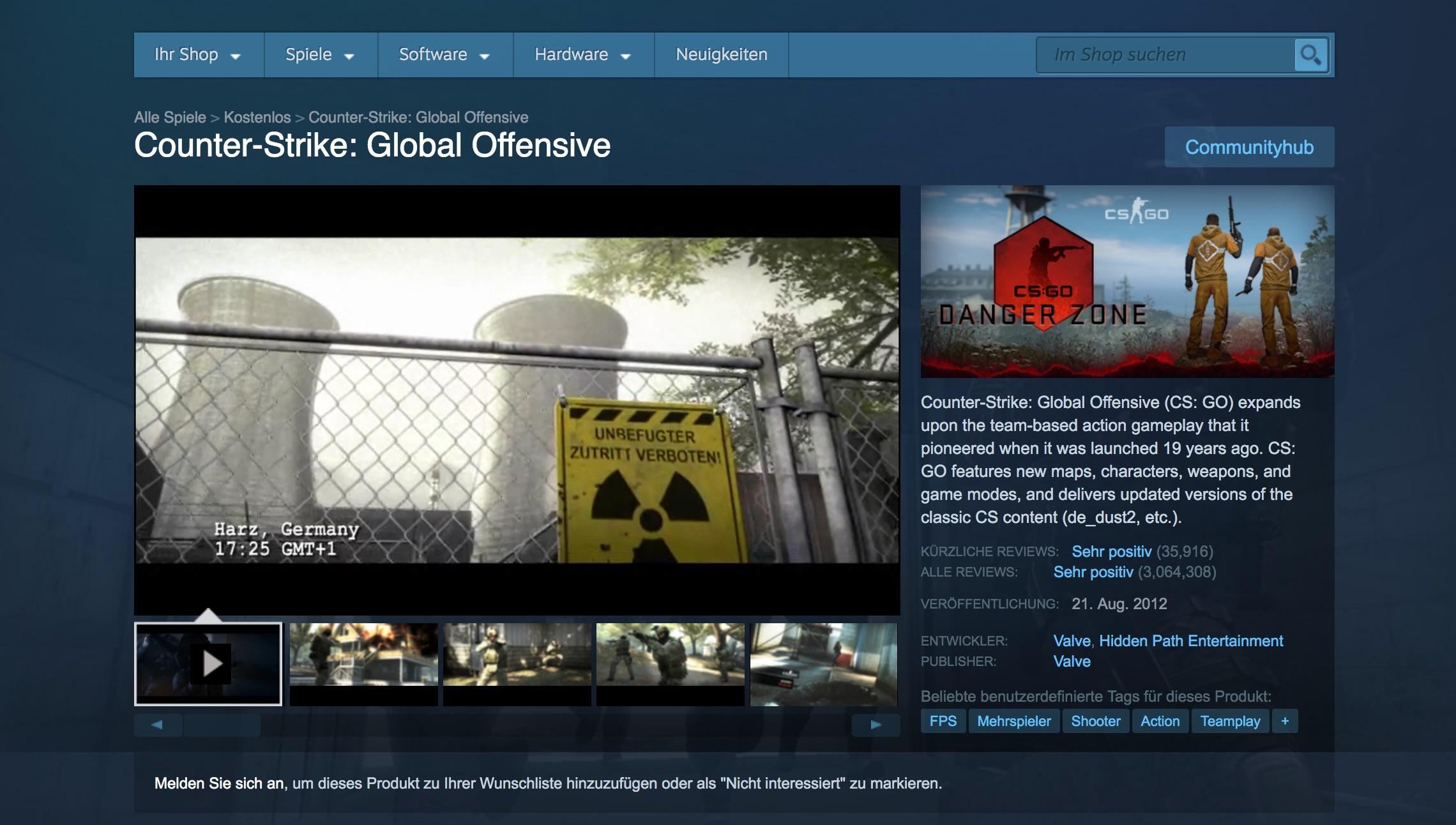 20 Jahre Counter-Strike: Von der Mod zum Multiplayer-Hit -