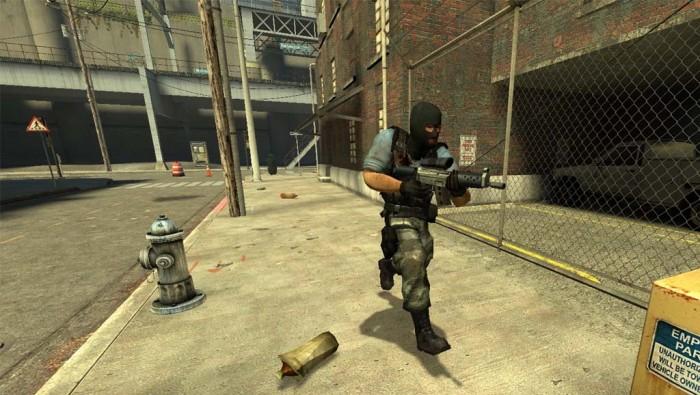Counter-Strike: Source erschien am 1. November 2004 und nutzte die leistungsstarke, damals auch in Half-Life 2 verwendete Source Engine. Inhaltlich betrachtet gilt es als Remake des ursprünglichen Spiels. (Quelle: Valve)