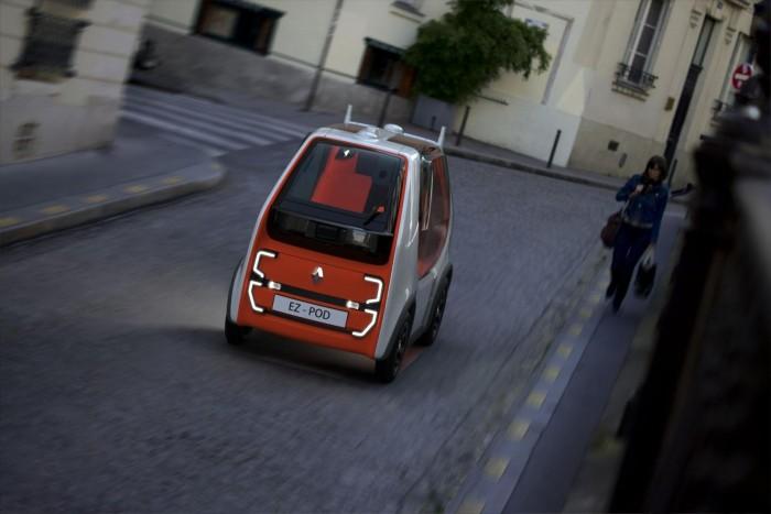 Renault EZ-Pod (Bild: Renault)
