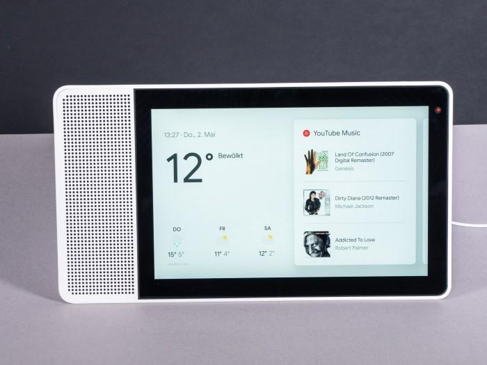 Der Startbildschirm des Smart Display (Bild: Martin Wolf/Golem.de)