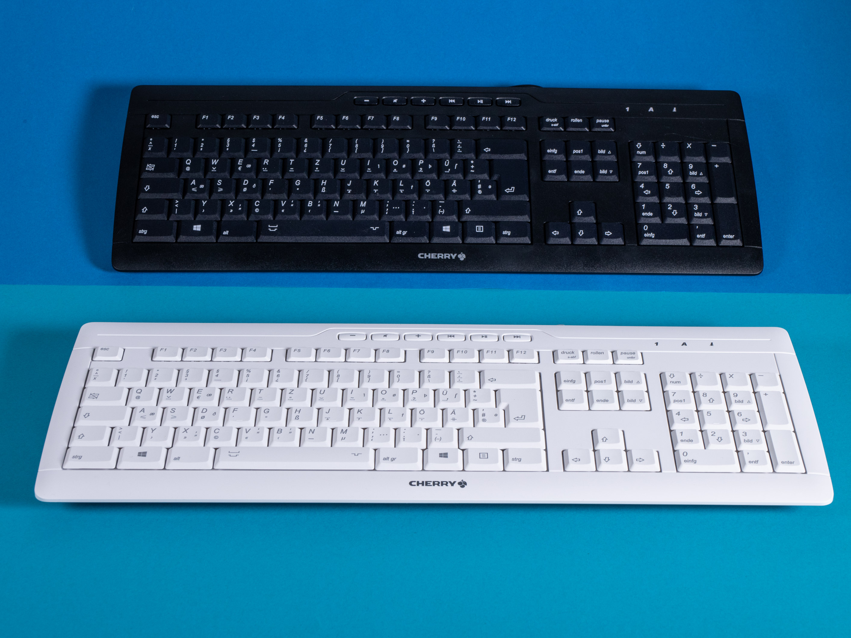 DIN 2137-T2-Layout ausprobiert: Die Tastatur mit dem großen ß -