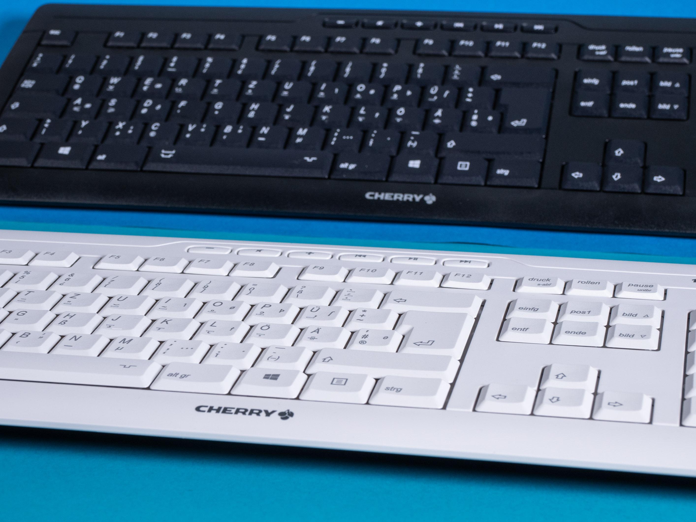 DIN 2137-T2-Layout ausprobiert: Die Tastatur mit dem großen ß - (Bild: Martin Wolf / Golem.de)