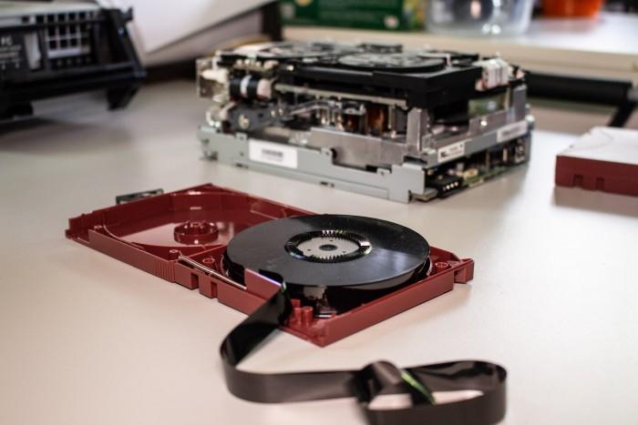 LTO-5-Tape von IBM (Bild: Martin Wolf/Golem.de)