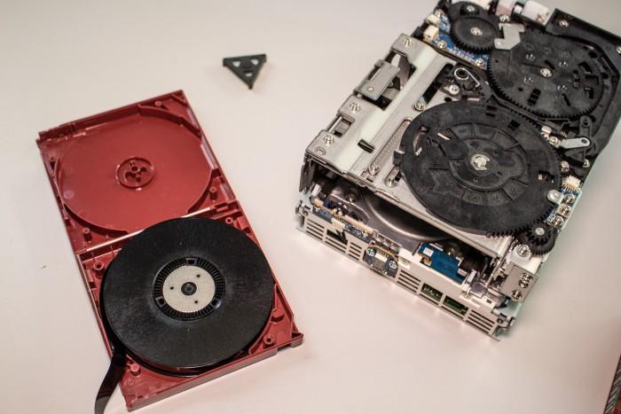Tape und Bandlaufwerk (Bild: Martin Wolf/Golem.de)