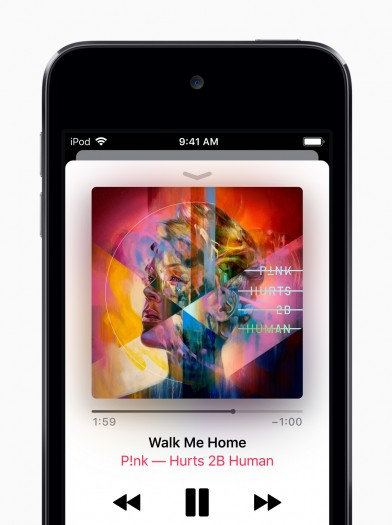 Der neue iPod Touch hat genügend Rechenleistung, um nicht nur als Musikplayer ...