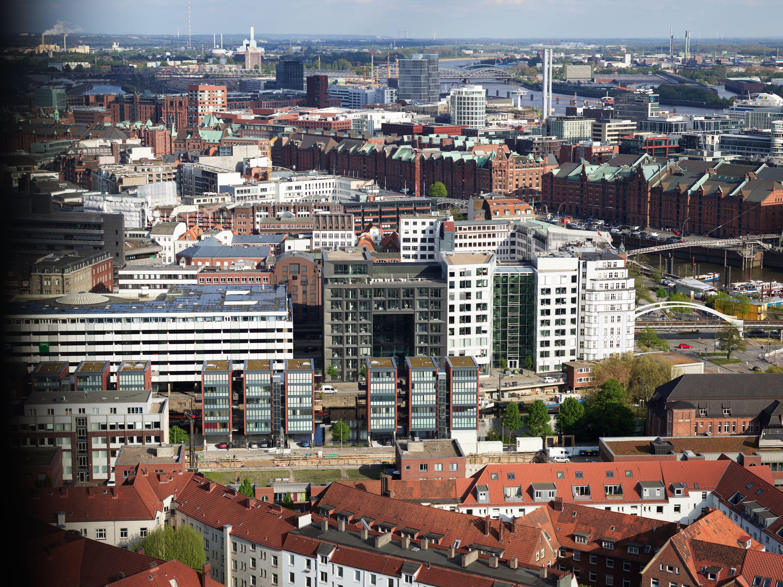 Phase One IQ4 im Test: Think big - Dieses Bild entstand auf der Aussichtsplattform des Michel. (Bild: Werner Pluta/Golem.de)