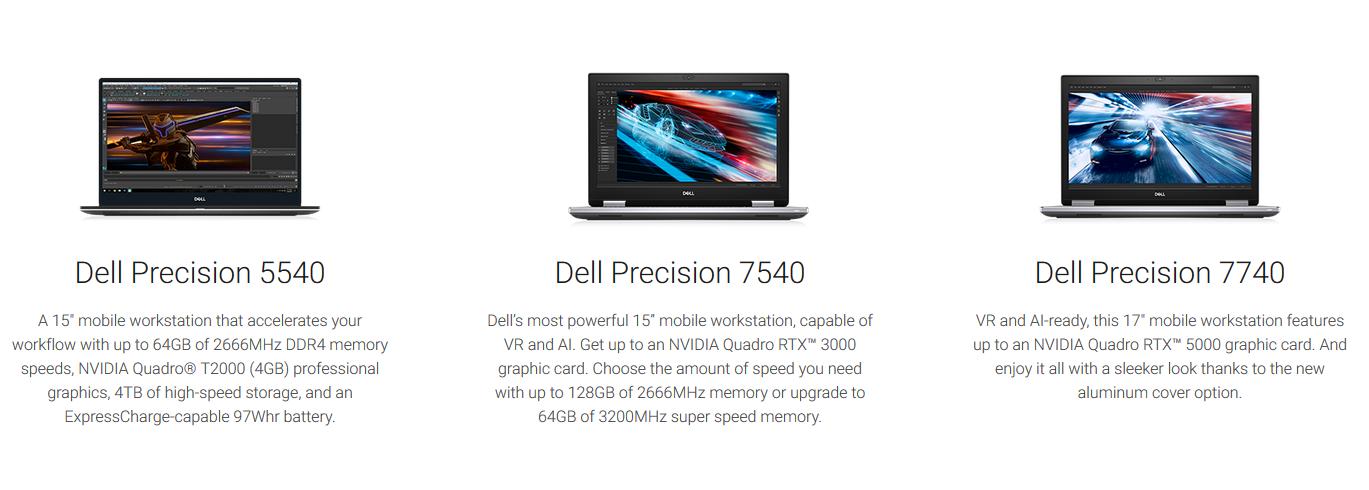 Xeon mit Quadro: Dell und Lenovo aktualisieren mobile Workstations - Neue Precision-Notebooks (Bild: Dell)