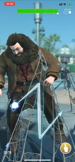 Gelich nach ein paar Minuten müssen wir Hagrid im Rahmen einer Tutorialmission helfen. (Bild: WB Games/Screenshot: Golem.de)