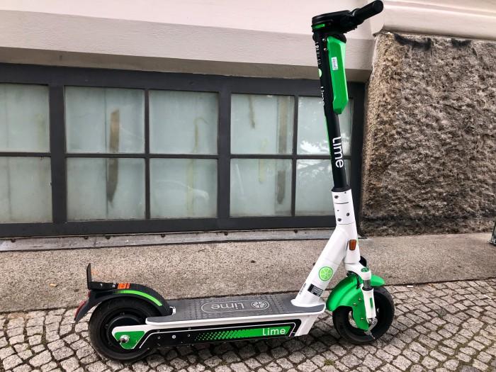 Lime-Tretroller (Bild: Andreas Donath)