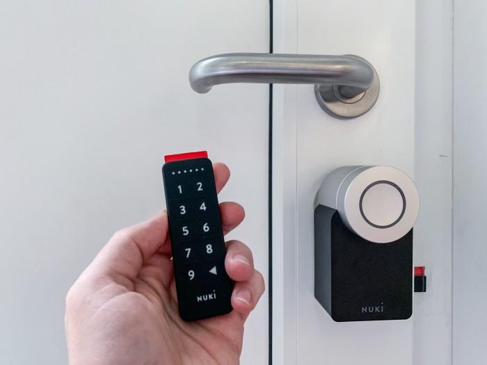 Das Keypad fürs Smart Lock (Bild: Ingo Pakalski/Golem.de)