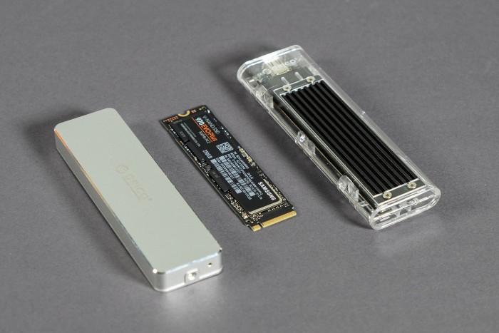 Orico Enclosure im Test: Die NVMe-SSD wird zum USB-Stick