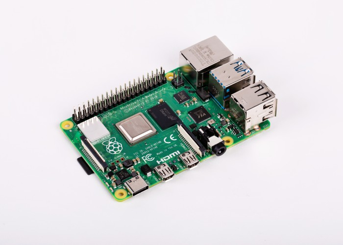 Raspberry Pi 4B (Bild: Rasperry Pi Foundation)