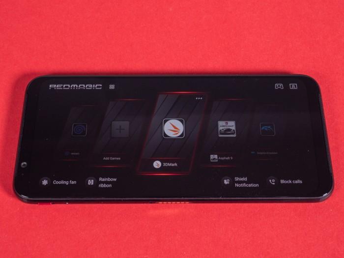Im Gaming-Modus werden Apps wie Spiele, aber auch Benchmark-Programme angezeigt. (Bild: Martin Wolf/Golem.de)