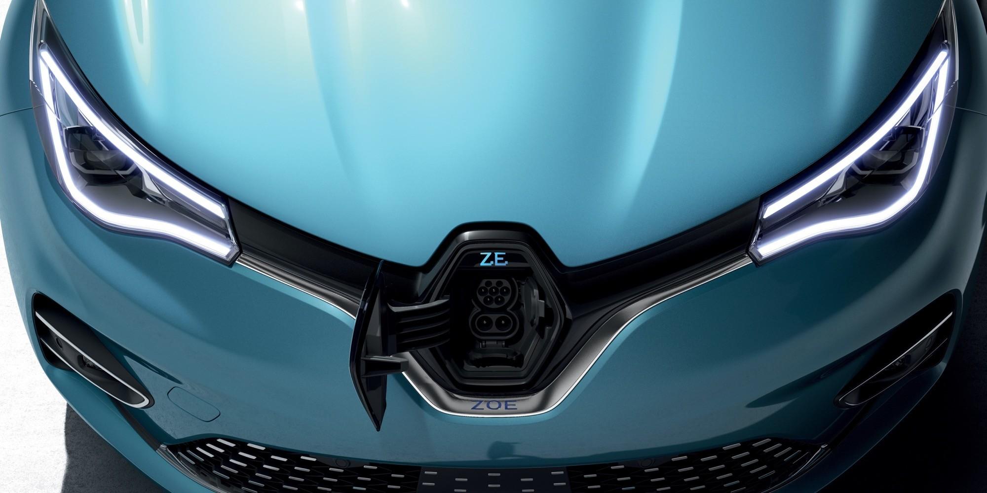 Elektroauto: Neuer Renault Zoe fährt 390 Kilometer weit - Renault Zoe (Bild: Renault)