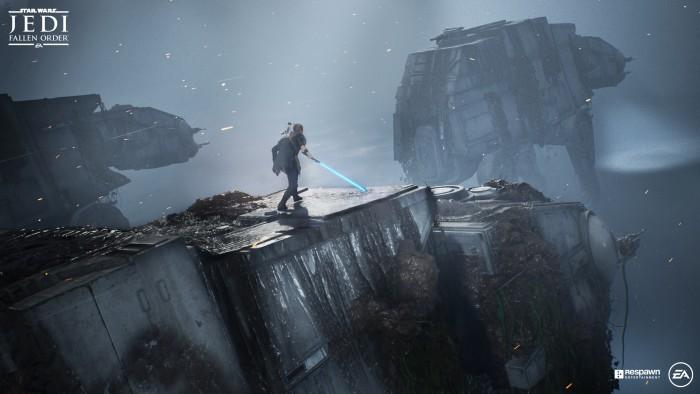 Artwork von Star Wars Jedi - Fallen Order (Bild: Electronic Arts)