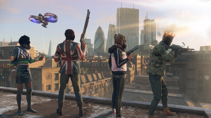 Artwork von Watch Dogs Legion (Bild: Ubisoft)