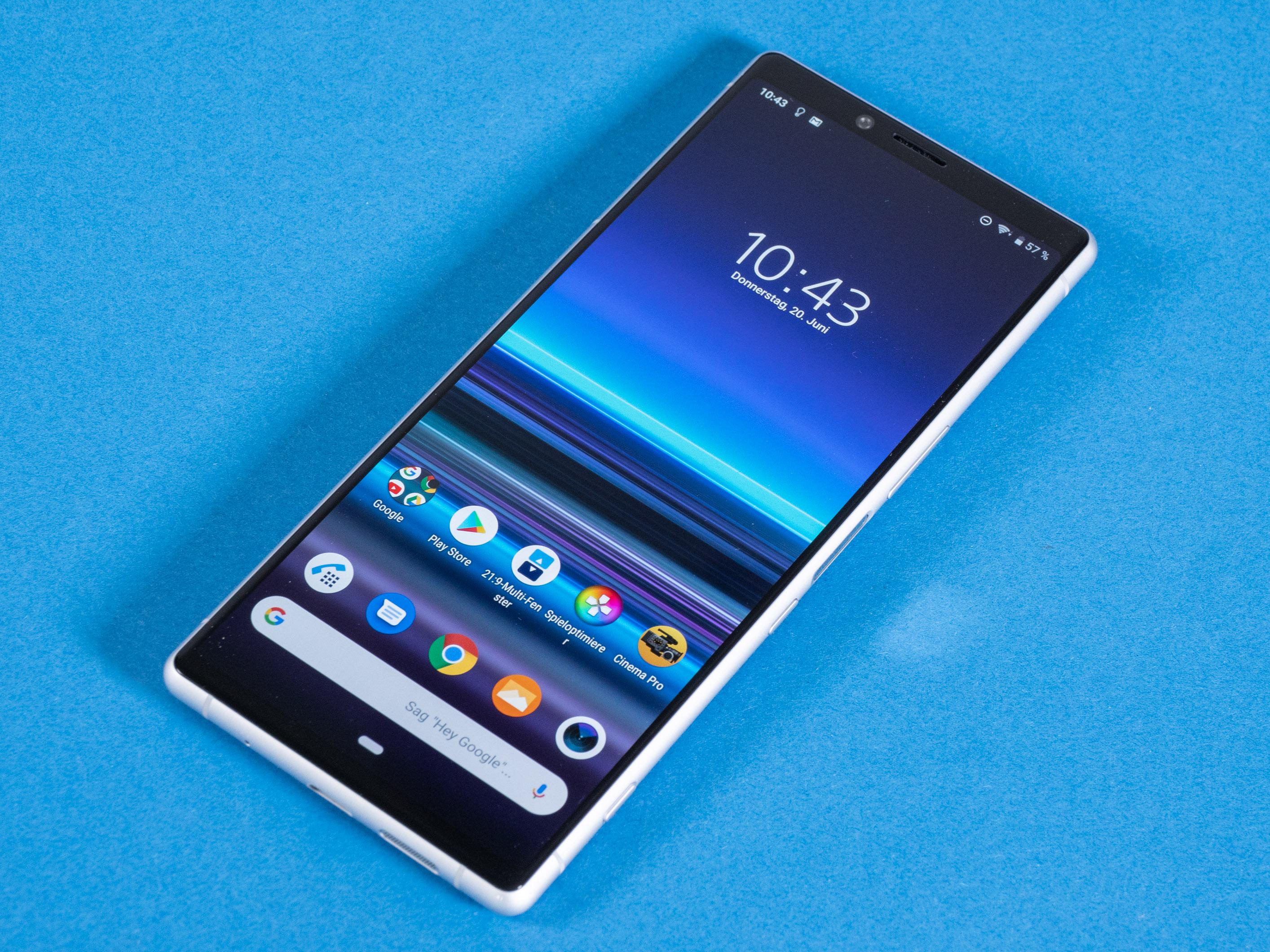 Xperia 1 im Test: Das Smartphone für Filmfans - Das Xperia 1 kostet 950 Euro. (Bild: Martin Wolf/Golem.de)