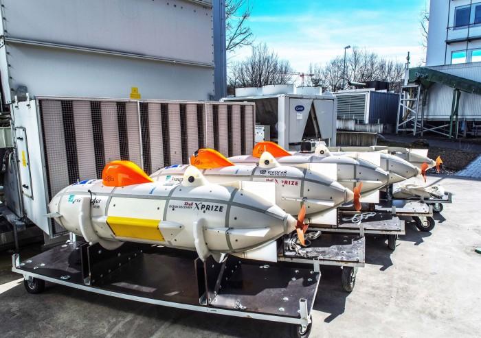 Autonome Tauchboote Great Diver (Bild: Fraunhofer IOSB)